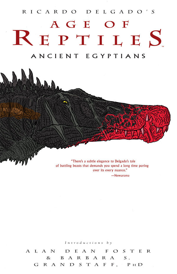 Age of Reptiles: Ancient Egyptians TPB Review- A Return for the Ages