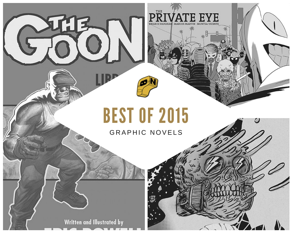 Best of 2015- Graphic Novels