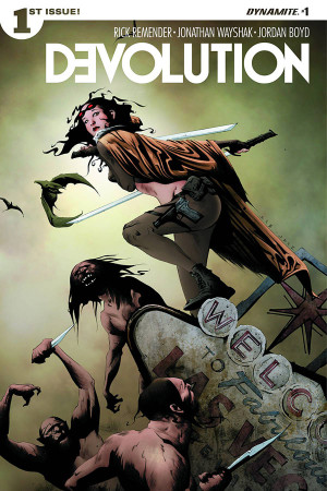 Devolution #1 Review: A New Step in Post Apocalyptic Wastelands