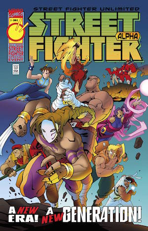 Street Fighter Unlimited #2 Review: Fight!