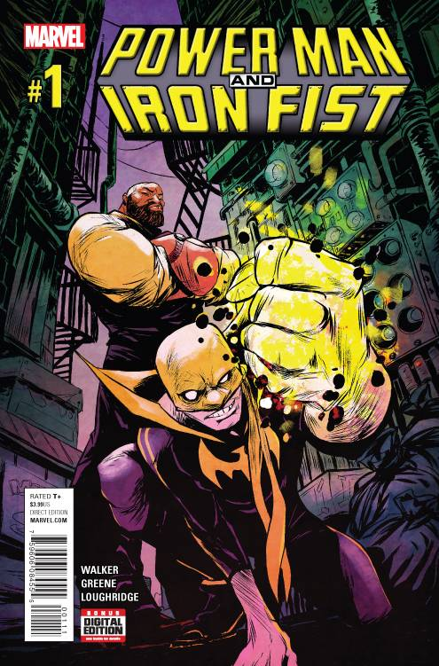 Power Man and Iron Fist #1 Review
