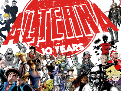 Let's Kickstart This! 10 YEARS of ALTERNA – a Celebration of Creator-Owned Comics