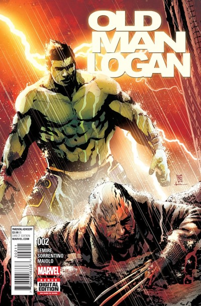 Old Man Logan #2 Review: Hulk Vs Wolverine 2016