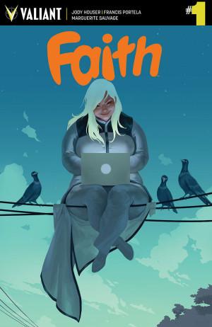 Valiant's FAITH #1 Flies into Third Printing – In Stores Alongside FAITH #2 in February!