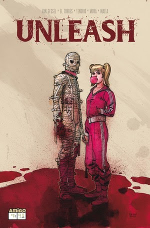 Amigo Comics Phase 2 is here: UNLEASH, ALAN DRACON… and STRAITJACKET TP