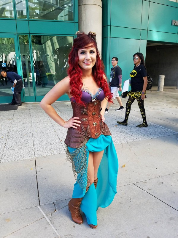Victorville Resident Dove Into WonderCon with Deep Sea Cosplay