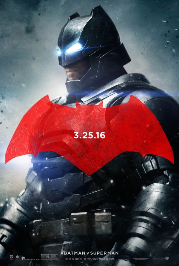 Batman v Superman Movie-Poster