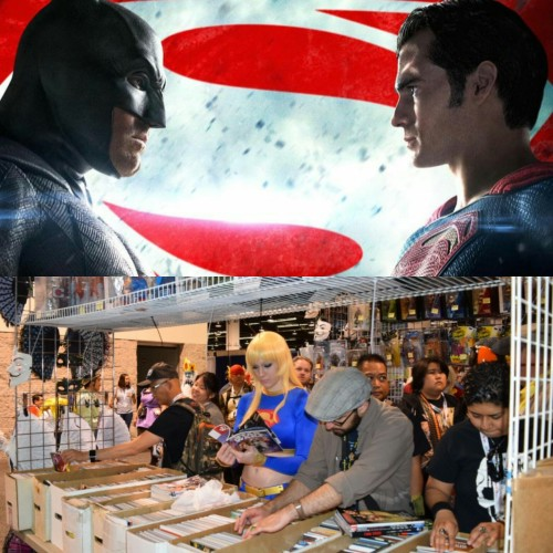 Superman V Batman Wondercon