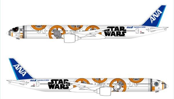 First International Flight Date Set for BB-8 ANA JET