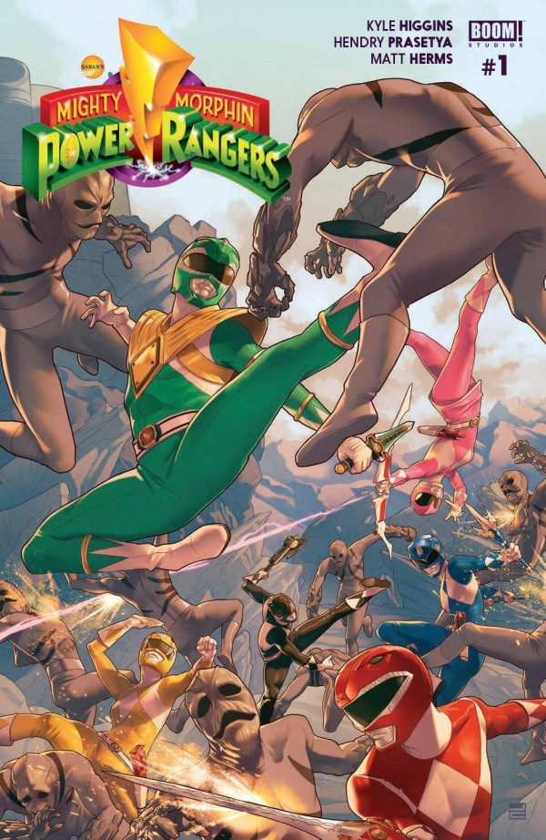 Mighty Morphin Power Rangers #1 Review
