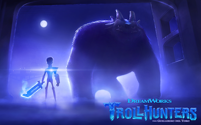 Guillermo del Toro's TROLLHUNTERS from DreamWorks on Netflix in 2016