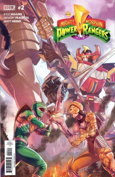 Mighty Morphin Power Rangers #2 Review