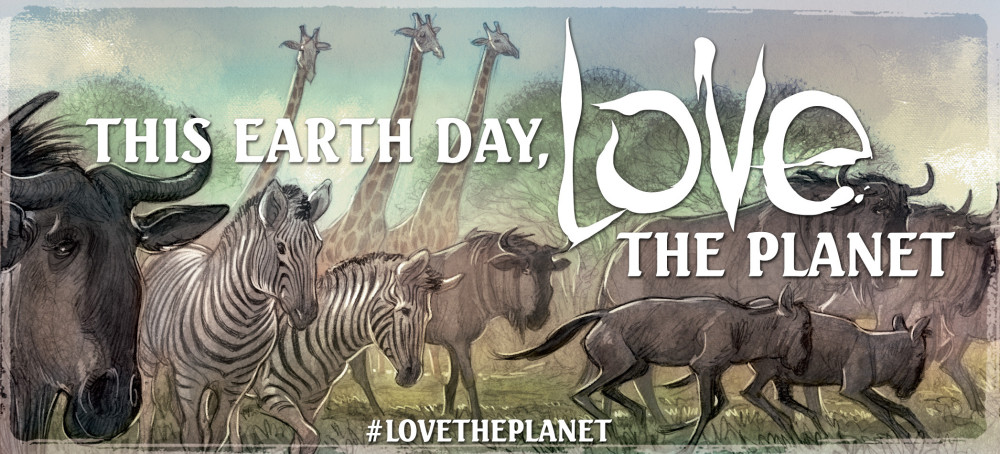 Magnetic Press Earth Day Fundraiser for World Wildlife Fund