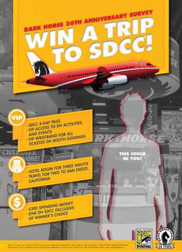 Win a Trip the San Diego Comic Con!