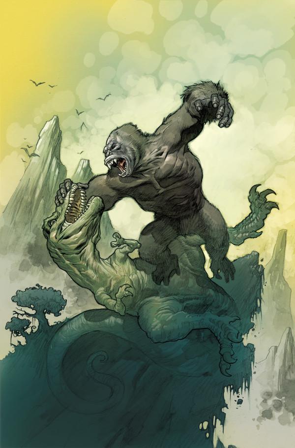 BOOM! Studios and DeVito Artworks Unleash 'Kong of Skull Island' Comic Series