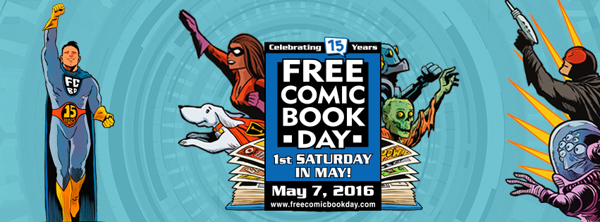 Want Free Comics? Free Comic Book Day is Coming May 7th