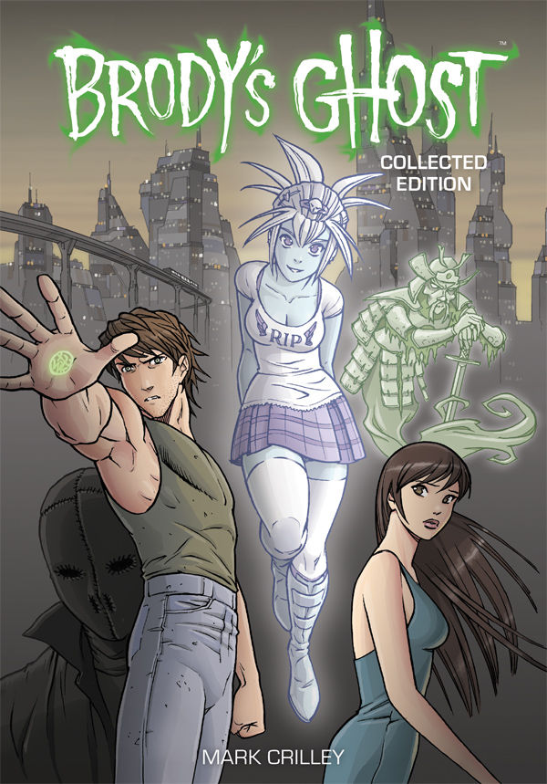 Brody's Ghost by Mark Crilley- Collected Edition Review