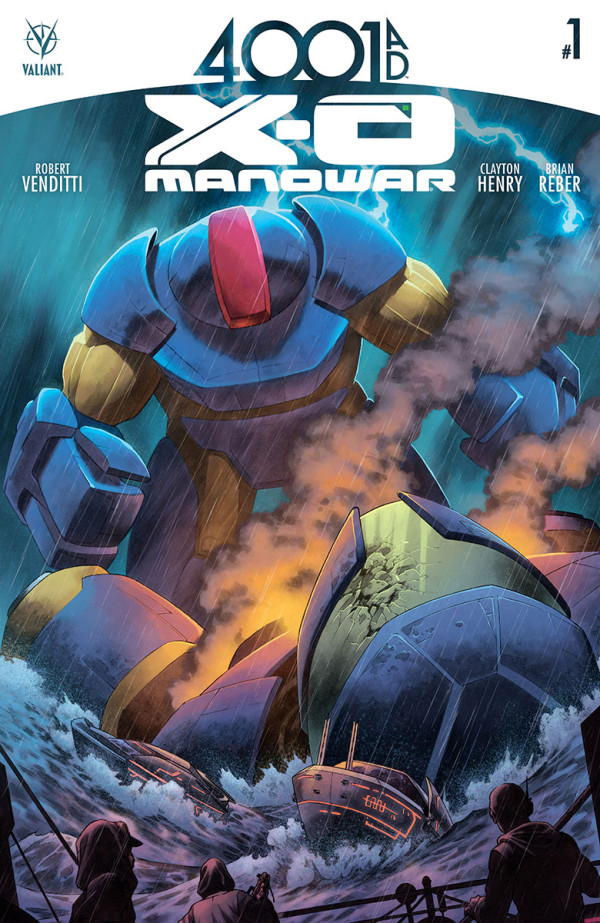 4001 A.D.: X-O Manowar #1 Review