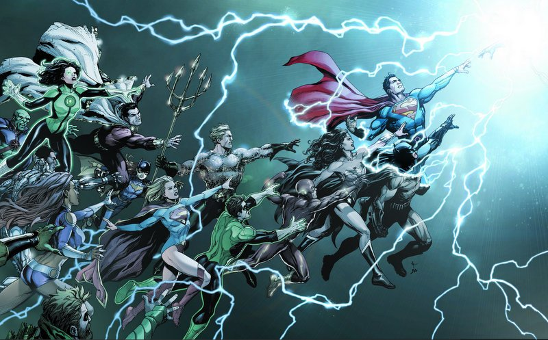 DC Universe Rebirth #1 Review: Brand New (Old) World
