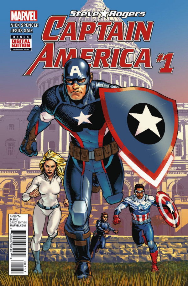Steve Rogers: Captain America #1 Review: THAT Issue