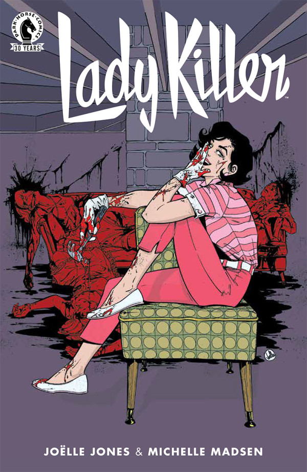 Joëlle Jones Continues Eisner Award Nominated Series Lady Killer In August