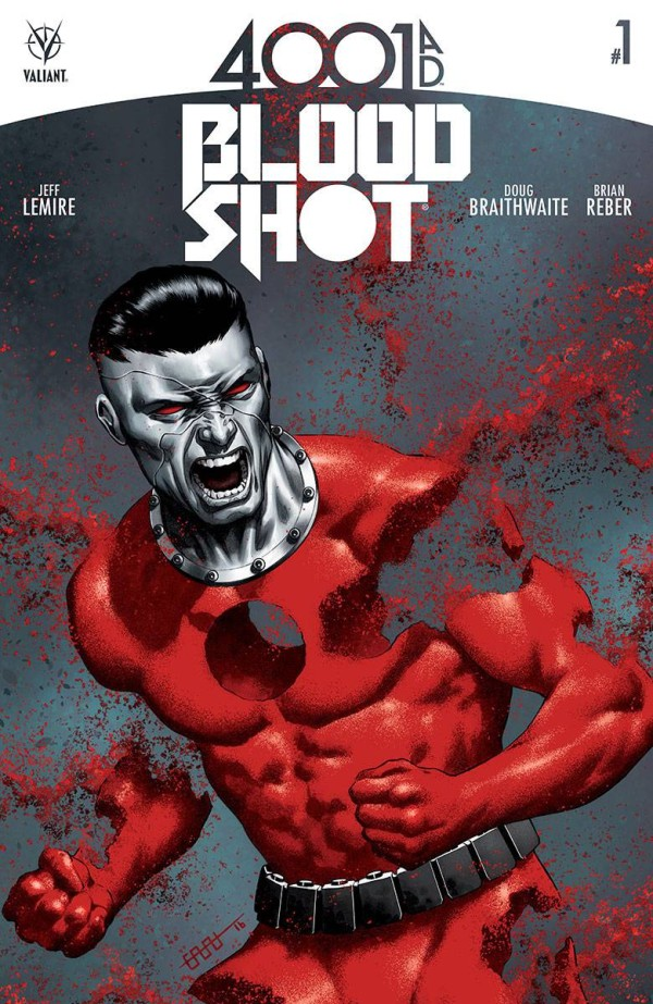 4001 A.D. Bloodshot #1 Review: Can't Keep a Soldier Down