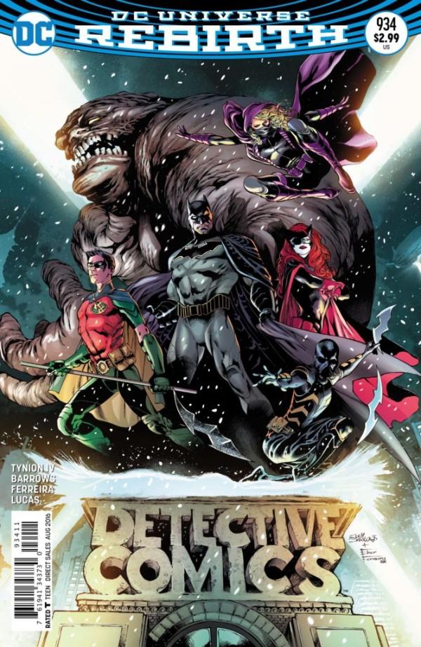 Detective Comics #934: Bat Team Assemble