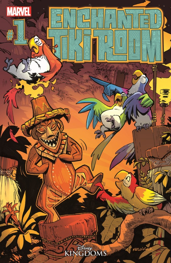 Enchanted Tiki Room #1 Brings Feathery Fun to Marvel Comics