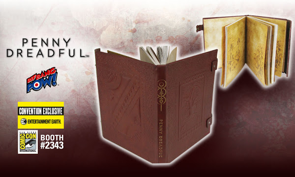 San Diego Comic Con Exclusive Reveal: Penny Dreadful Spell Book Journal
