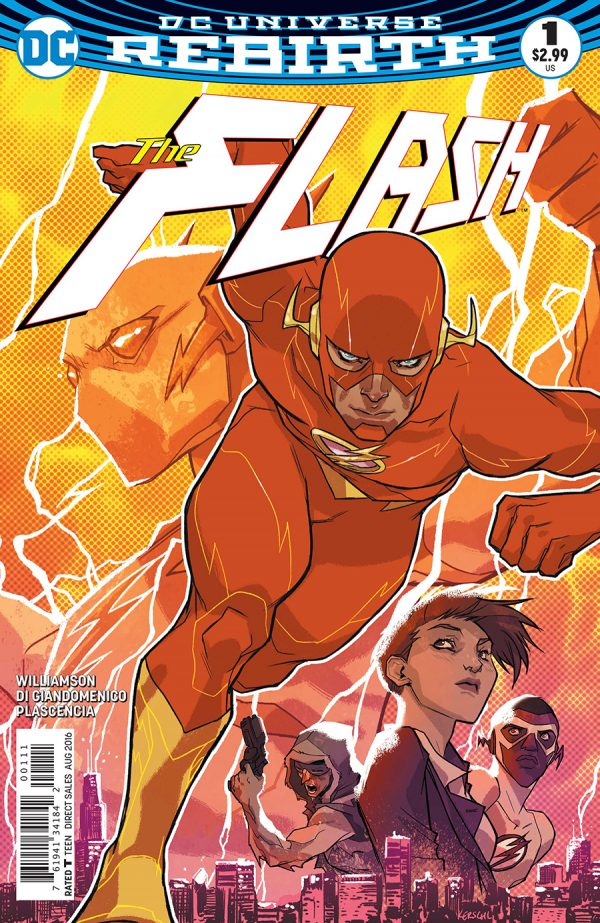 The Flash #1 Review: Lightning Strikes Twice
