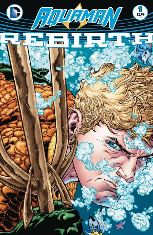 Aquaman Rebirth #1 Review: Learning to Swim