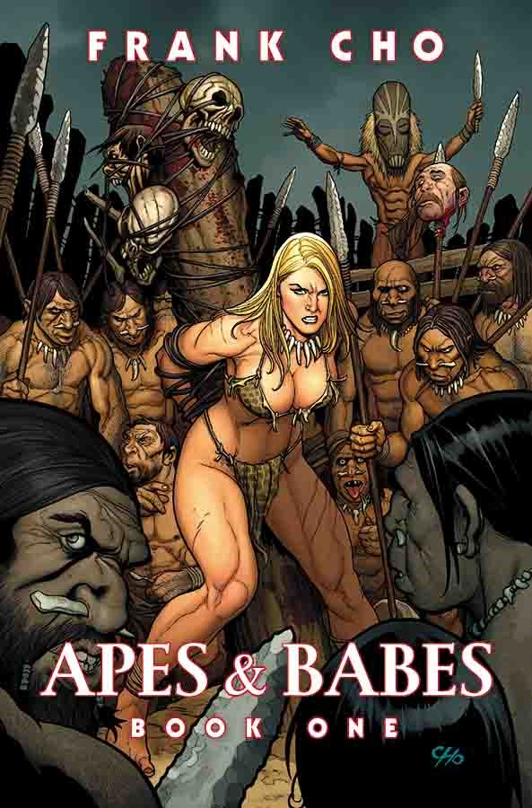 Frank Cho- Apes & Babes Book One Review- Dinosaurs + Beautiful Women + Cho= A Hit