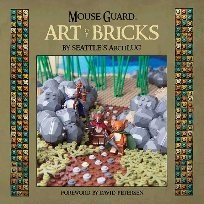 Mouse Guard ArtOfBricks_HC_Cover