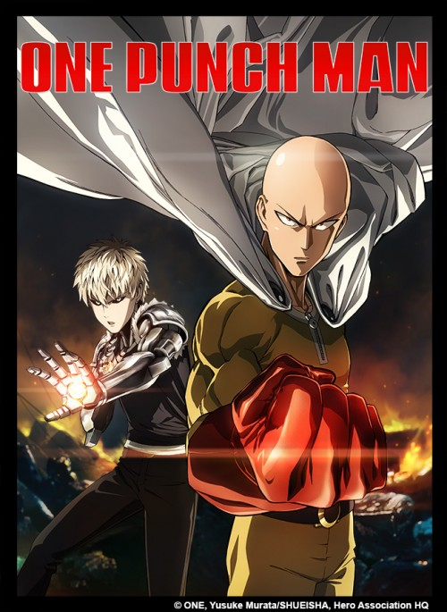 One Punch Man Anime-KeyArt(1)
