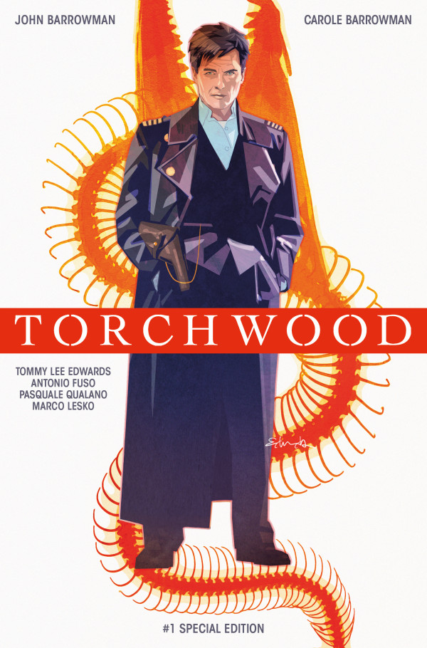 Captain Jack is Back! Titan's New Torchwood Comic Debuts at San Diego Comic Con