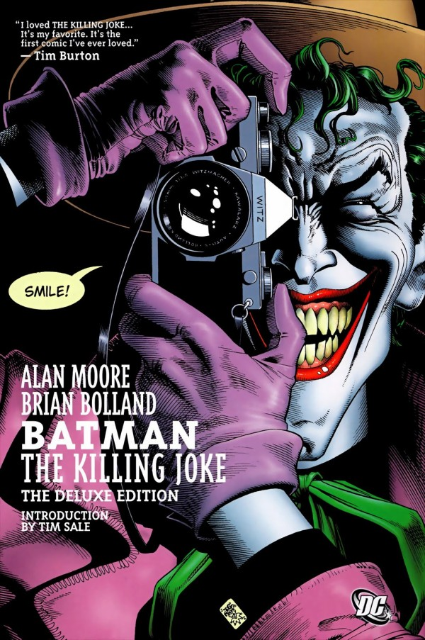 WINNERS ANNOUNCED! Countdown to Comic Con Giveaway: Smile! It's Batman- The Killing Joke!
