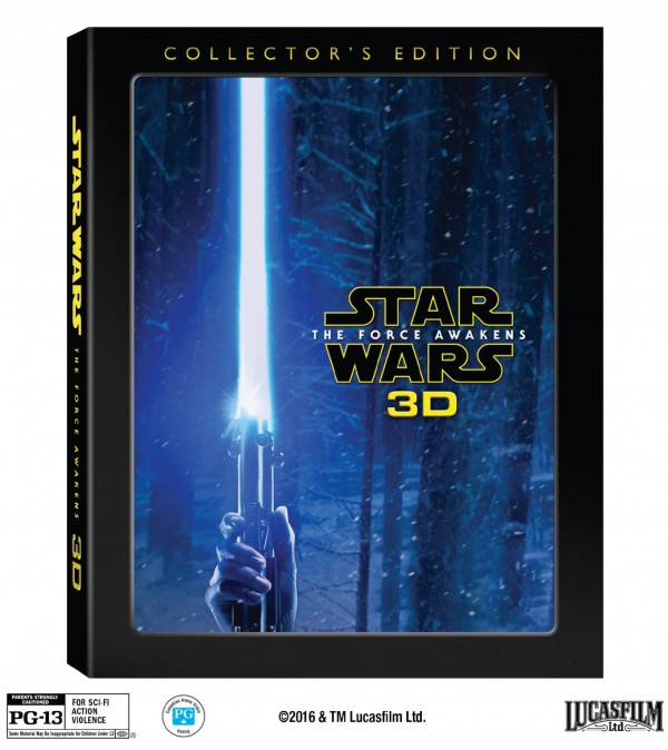 Star Wars: The Force Awakens 3D Collectors Edition – arriving in the US and Canada on Nov 15