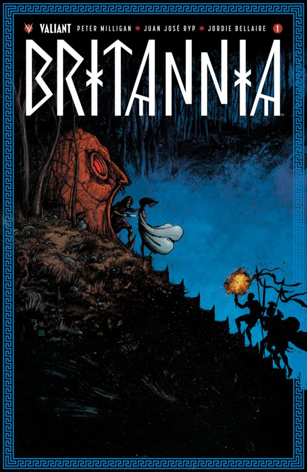 Valiant's BRITANNIA #1 Grows to 40 Pages with Peter Milligan, Juan Jose Ryp and Raul Allen – Coming in September