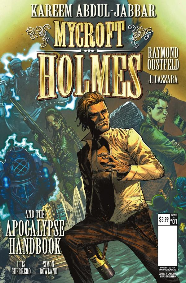 Mycroft Holmes #1 Review – The Other Holmes