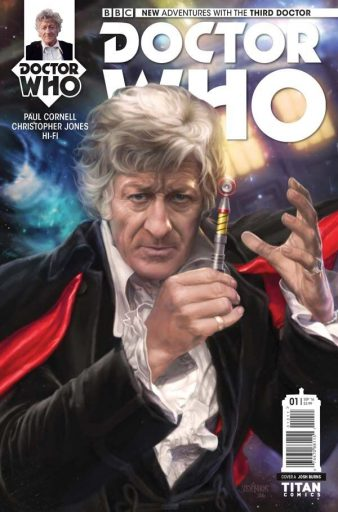 Doctor Who: The Third Doctor #1 Review- The Doctor Is In
