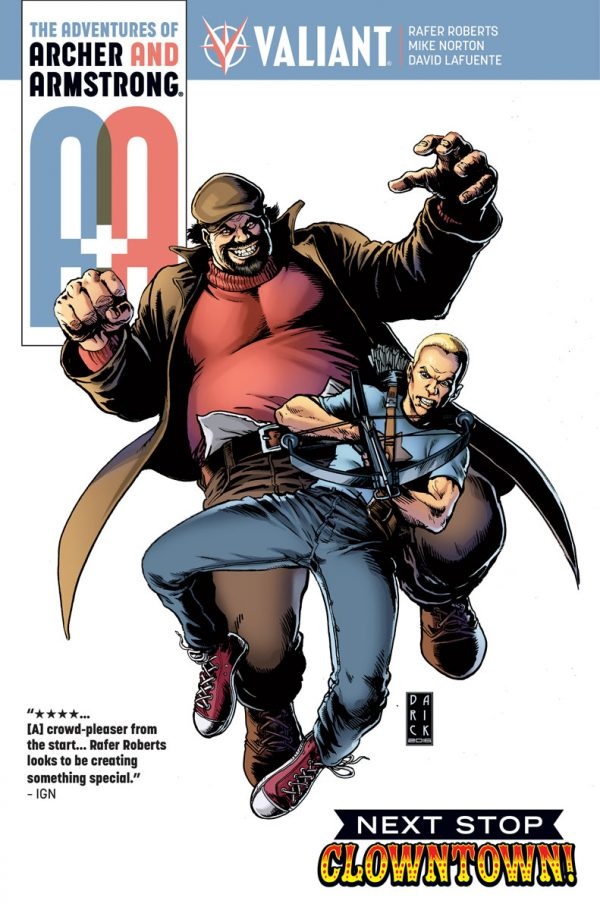 A&A: The Adventures of Archer and Armstrong #7 Review- Clowning Around