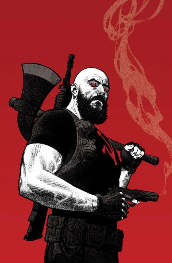 DIVINITY III: KOMANDAR BLOODSHOT #1 – Cover C by Greg Smallwood