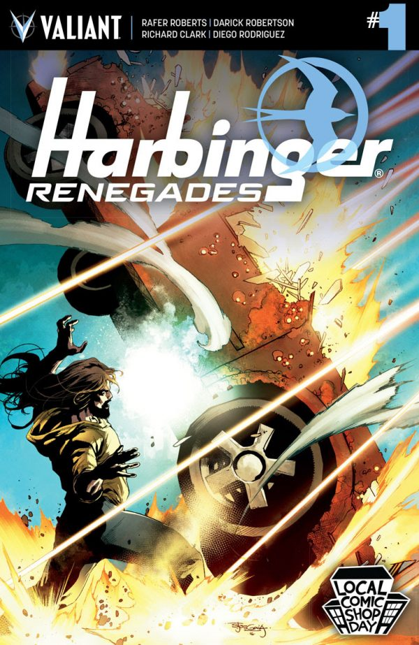 Valiant Joins Local Comic Shop Day 2016 with HARBINGER RENEGADES #1 and BLOODSHOT U.S.A. #1
