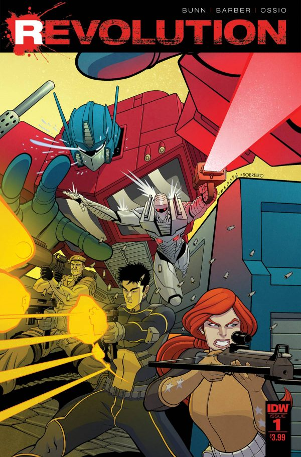 Revolution #1 Review: Sharing Universes