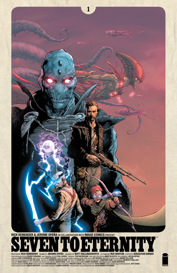 Seven to Eternity #1 Review: An Old Fashioned Sci-Fi Adventure