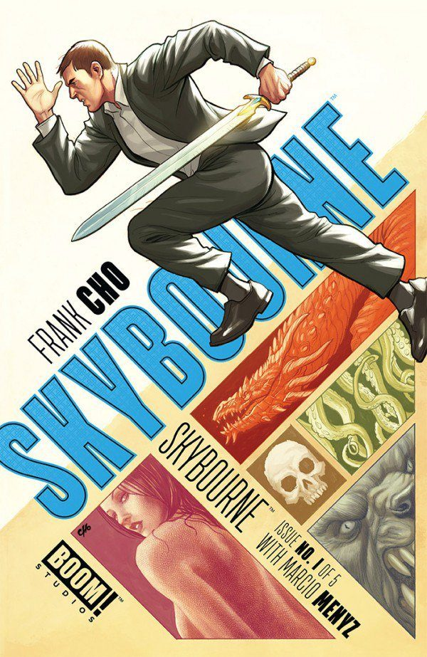 Skybourne #1 Review: Deadly Good