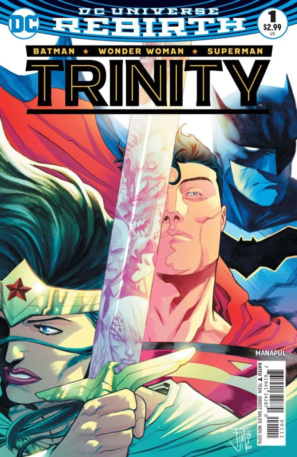 Trinity #1 Review- Time to Breathe