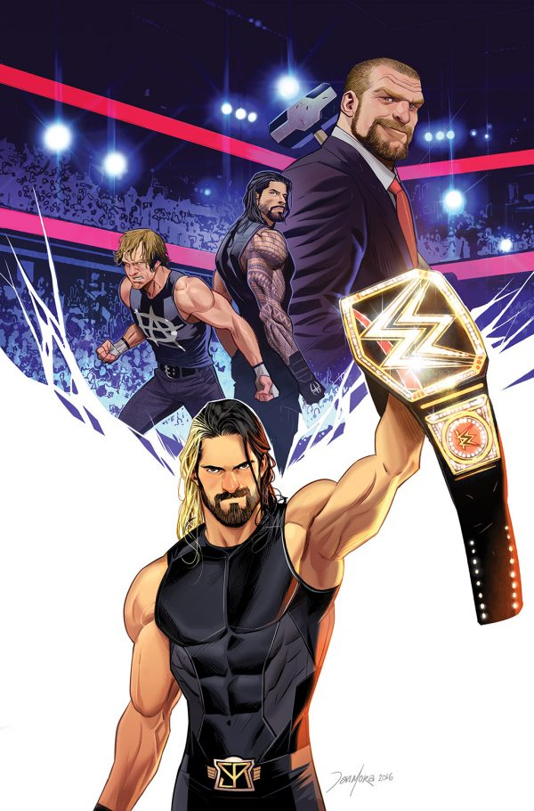 Road to New York Comic Con Announcement #4: BOOM! Studios Announces WWE Ongoing Comic Book Series