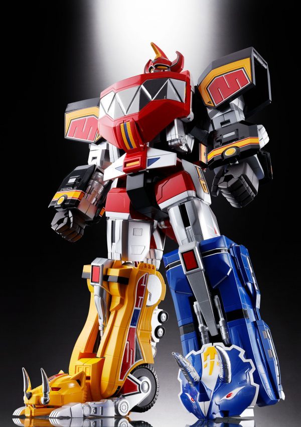 Bluefin Opens Pre-Orders for Bandai's Stunning New Soul of Chogokin Mighty Morphin Power Rangers Megazord