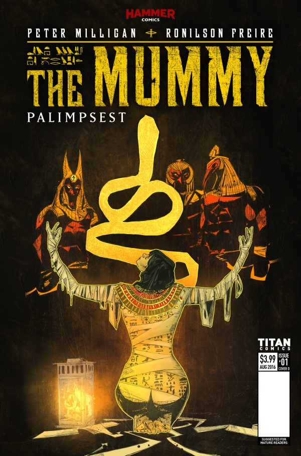 The Mummy #1 Review: Reinventing a Horror Classic